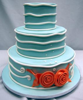 16款超完美海洋主题婚礼蛋糕