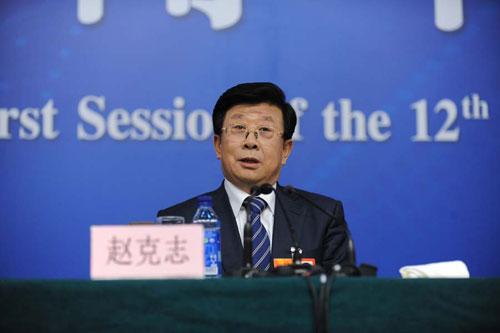 贵州省委书记赵克志答欠发达地区如何同步实现