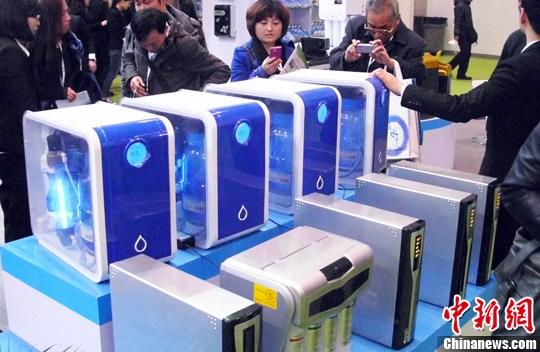 图为北京水展现场。中新社发 钱兴强 摄