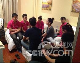 天津理工大学 带伤上场 加班排练