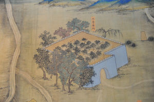 明代丝绸之路巨幅地图长卷展出
