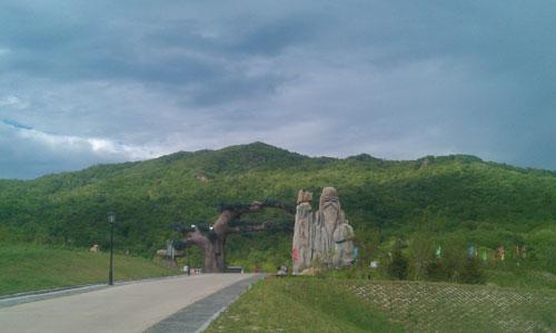 延寿境内风景秀丽的长寿山。