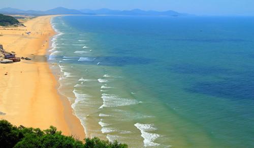 旅游台  旅游频道     海陵岛位于中国广东省阳江市西南端的南海北部