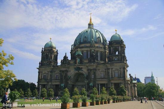 柏林大教堂 图:周明陶