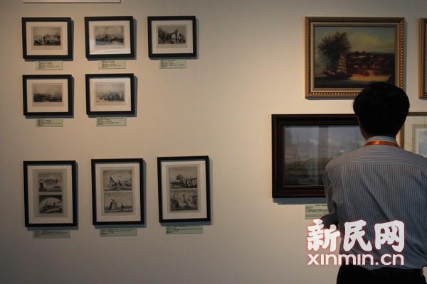 来自宝岛的148件展品生动地叙述了台湾人民的航运史。新民网记者沈文林摄