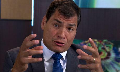 厄瓜多尔总统:帮助斯诺登是错误不会考虑庇护