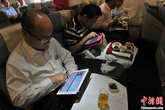 """Интернет доступен в самолетах китайской авиакомпании """"Эйр Чайна"""""""