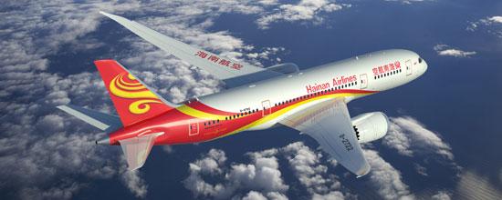 海南航空787梦想客机