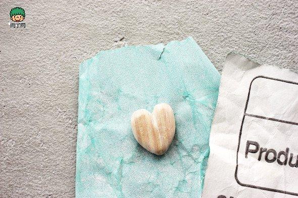 冰棒棍雪糕棍diy心形摆件礼物小制作图片