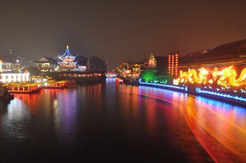 秦淮河夜景