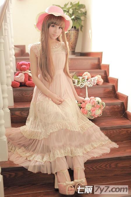 服装达人推荐森系&日系甜美连衣长裙,清新减龄超可爱萝莉风&nbsp