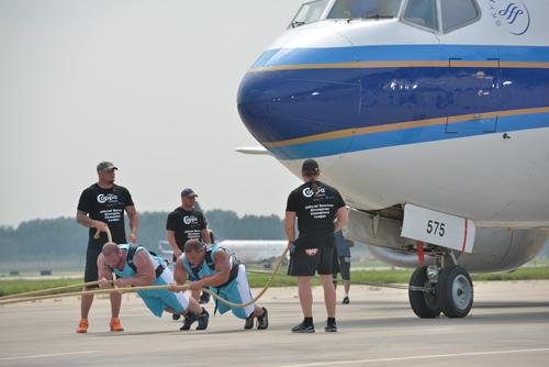 比赛项目分类:大力士拉飞机