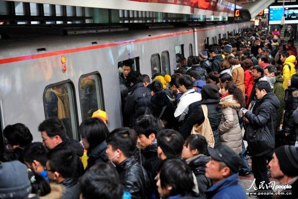 最大运力地铁:北京地铁
