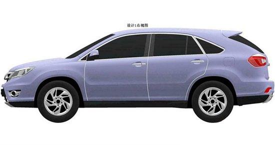 [国内车讯]比亚迪S7专利图曝光 明年上市