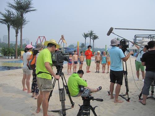 挑战大现场 8月10日播出 沙滩大狂欢