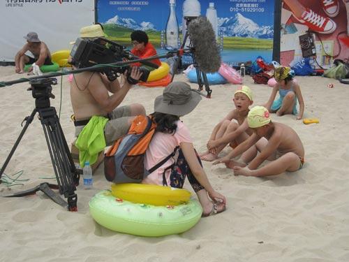 挑战大现场 8月10日节目播出 沙滩大狂欢