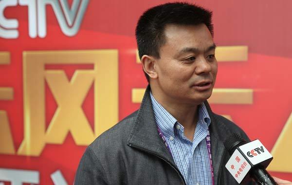 中央电视台体育频道总监江和平
