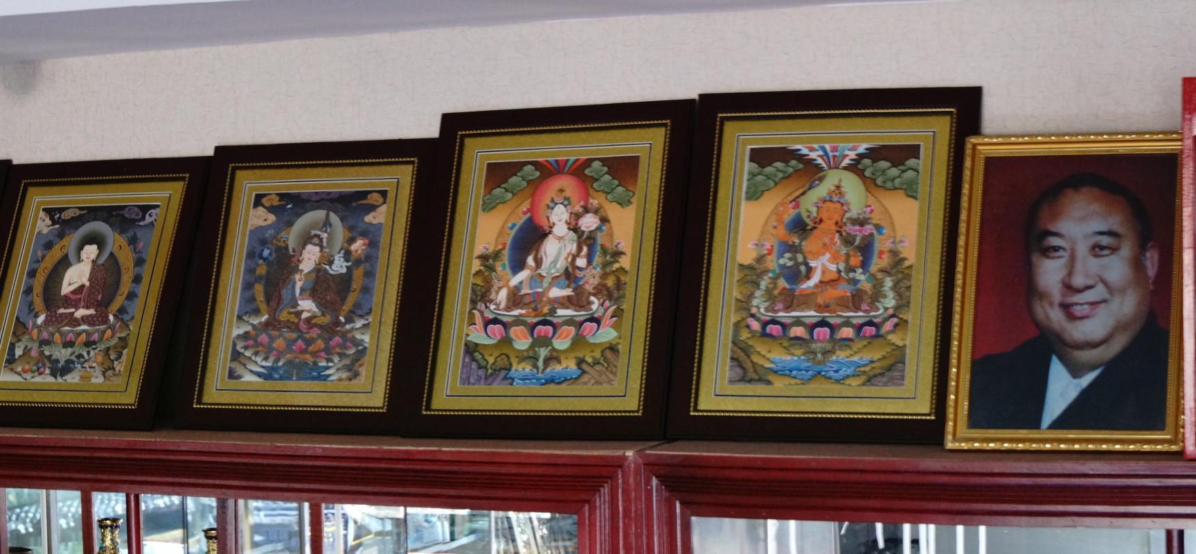 手绘西藏唐卡