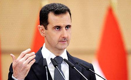 资料图:叙利亚总统巴沙尔·阿萨德。