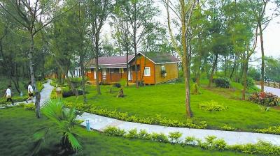 火山自然生态风景区)位于漳州漳浦县前亭镇江口村,是国家级地质公园.