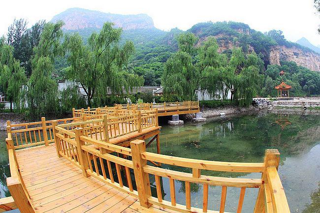 北京市科普教育基地,北京市地质遗迹保护区,位于延庆县城东北部白河
