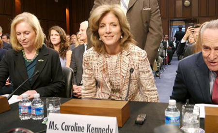 美国候任驻日大使卡罗琳·肯尼迪
