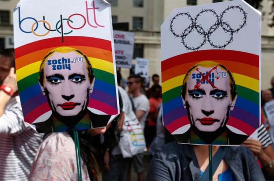 LGBT团体也会在俄罗斯走上街头捍卫自身的权利