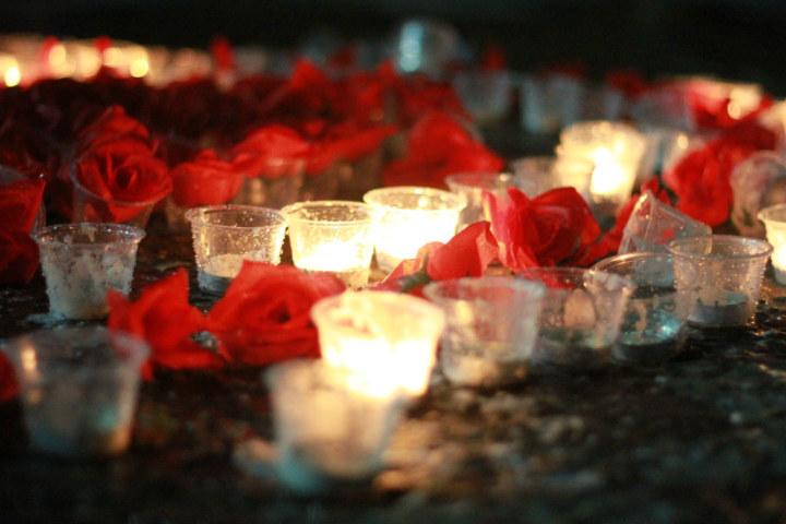 十个蜡烛摆放设计图