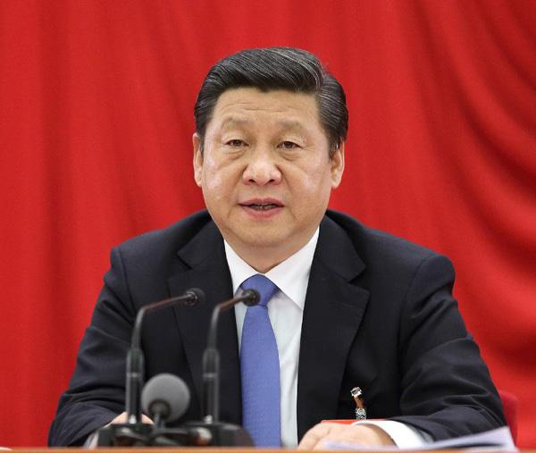 中国共产党第十八届中央委员会第三次全体会议,于2013年11月9日至12日在北京举行。全会由中央政治局主持,中央委员会总书记习近平作重要讲话。新华社记者 兰红光 摄