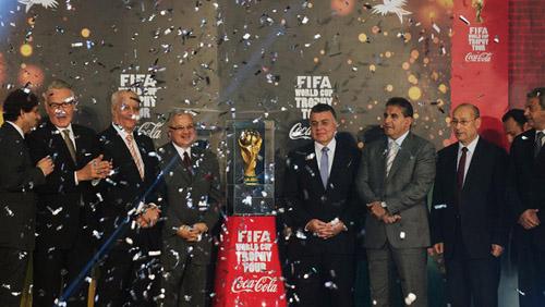 عرض كأس العالم لكرة القدم في مصر