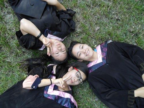 中国梦,青年人的梦,大学梦完成啦