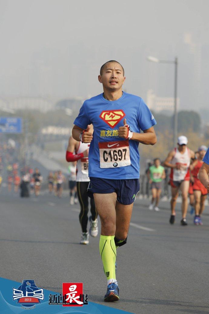 于嘉:上海马拉松收官之后 跑步已不只是一项运动