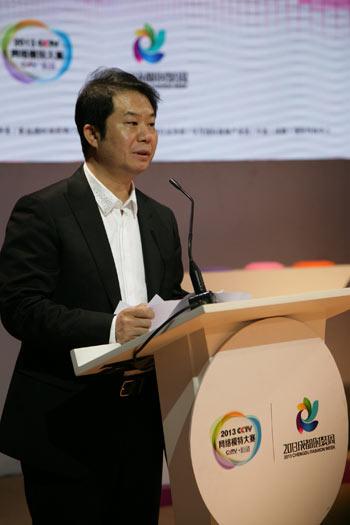 新丝路时尚机构总裁陈涛介绍CCTV网络模特大赛总决赛与成都时尚周相关情况