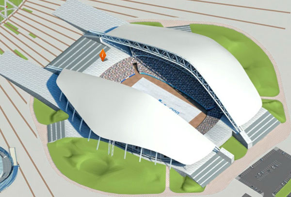 索契奥林匹克体育场(The Fisht Olympic Stadium)