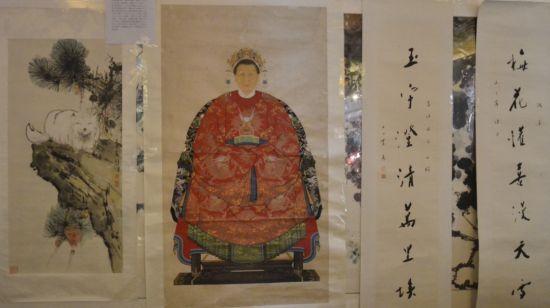 北京草人艺术馆珍藏的古代名人书画