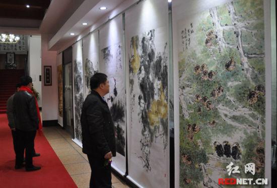 长韶娄高速杯 全国书画作品展长沙开展