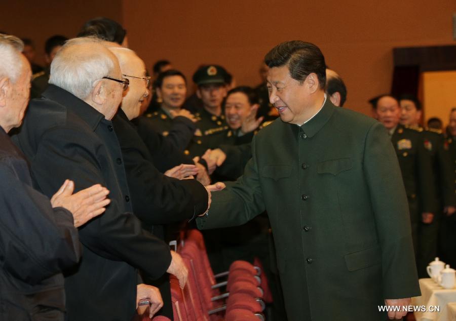 شى جين بينغ يقدم تهانيه بمناسبة عيد الربيع لقدامى المحاربين
