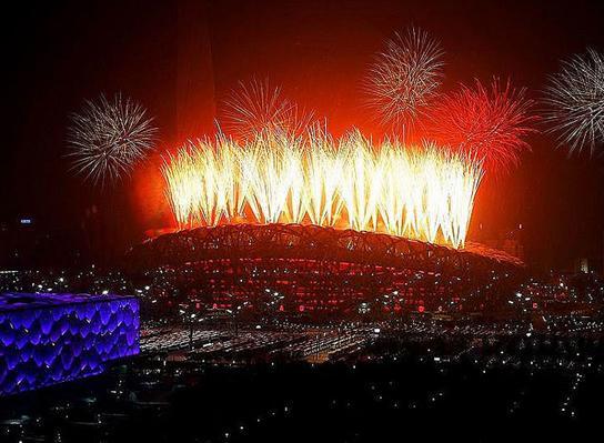 2008年8月8日,北京奥运会盛大开幕。