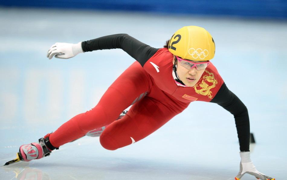 刘秋宏在本届冬奥会比赛中