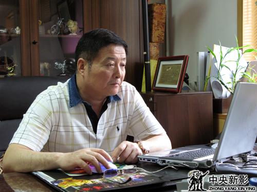 新影集团时政部主任陆黎