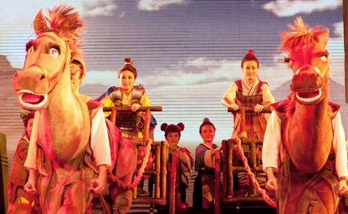 中国木偶剧院小孔子艺术团开班以来