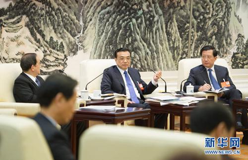 شارك لي كه تشيانغ وفد مقاطعة جيانغشي في أعمال المراجعة
