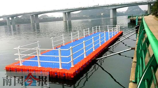 柳州水上公交将开行 暂设9个站点票价预计为1-2元