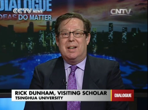 Rick Dunham, Visiting Scholar of Tsinghua University