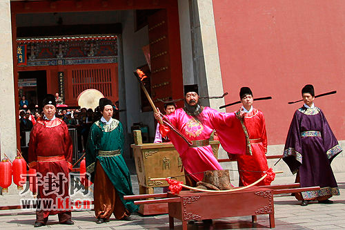 Northern Song Dynasty culture on parade in Kaifeng