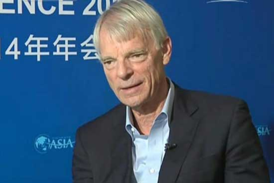 Michael Spence Nobel Prize laureate in economics.