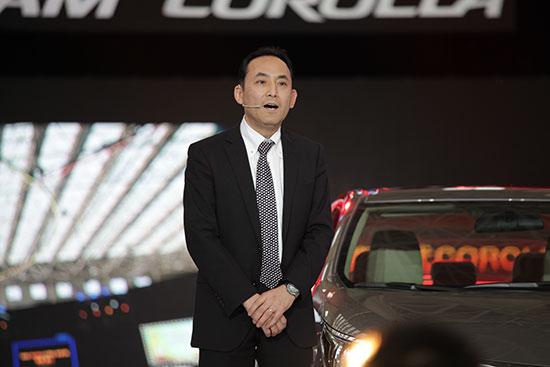 全新第11代COROLLA卡罗拉的总设计师安井慎一先生