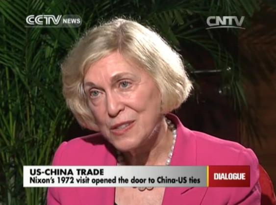 Barbara Hackman Franklin, former US Secretary of Commerce