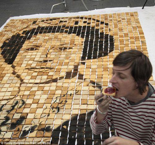 欣赏完艺术品,吃进肚里!