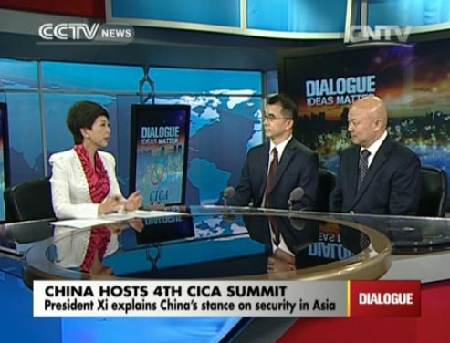 Dialogue 05/21/2014 China host 4th CICA Summit